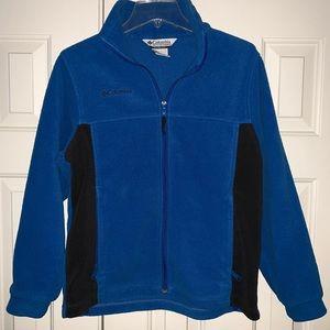 EUC Columbia Full Zip Fleece Jacket Size 14/16Y